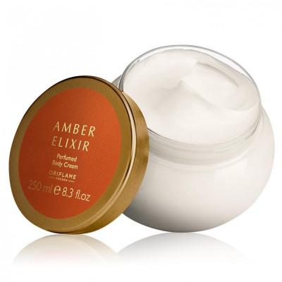 Cremă de corp parfumată Amber Elixir (Oriflame) foto