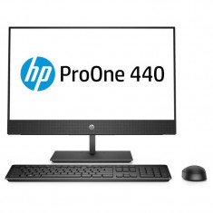 Sistem All in One HP ProOne 440 G4 23.8 inch FHD Intel Core i5-8500T 8GB DDR4 256GB SSD Black