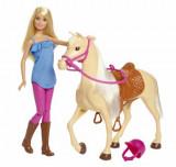 Cumpara ieftin Papusa Barbie cu cal