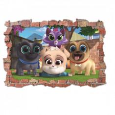 Sticker 3D perete, 60x90cm, Bingo & Rolly