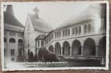 Castelul Corvinestilor din Hunedoara, Curtea Castelului// CP, Necirculata, Printata