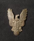 Insigna Aviatie per. regalista - Pilot - Ferdinand I - Superba