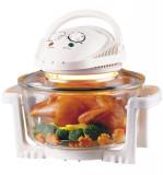 Cuptor Grill cu Halogen Camry, Capacitate 12L, Putere 1300W, Control Temperatura, Timer