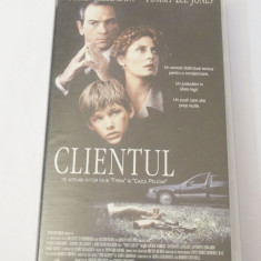 Caseta video VHS originala film tradus Ro - Clientul