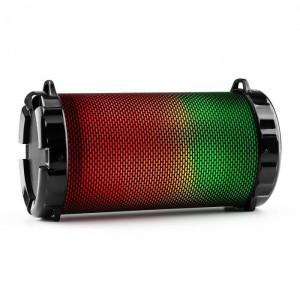 Auna DR. BEAT LED, 2.1 difuzor Bluetooth, baterie, LED-uri multicolore, USB, SD, FM, AUX