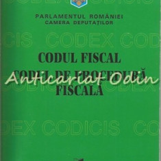 Codul Fiscal. Codul De Procedura Fiscala 2004 - Regia Autonoma Monitorul Oficial