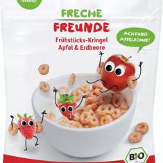 Cereale pentru mic dejun cu mere si capsuni bio 125g