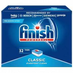 Detergent de vase pentru masina de spalat Finish Classic, 32 tablete
