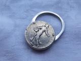 BRELOC argint DEPOSE FRANTA inceput secol 19 RAR manopera SPLENDIDA de colectie