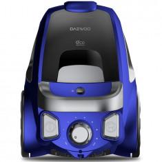Aspirator fara sac RCC-230L/3A, 800 W, 2.5 l, tub telescopic din metal, albastru