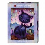 Cumpara ieftin Puzzle Heye Black Kitty, 1000 piese