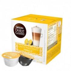 Capsule cafea Nescafé Dolce Gusto, Latte Macchiato Vanilla, 2 x 8 Capsule, 188.4 g