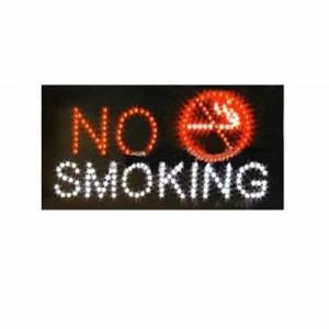 Panou cu leduri 25 x 50 cm – No Smoking
