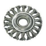 Perie sarma impletita cu orificiu Proline, tip circular, 100 mm