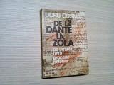 DE LA DANTE LA ZOLA -  Doru Cosma -  Editura Sport Turism, 1978, 270 p.
