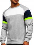 Bluză gri bărbați Bolf KS2219