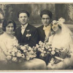 AD 1163 C. P. VECHE -MIRII NECULAE SI FLORICA , CU NASII-1923 -FOTO-LUX ZALEVSKY