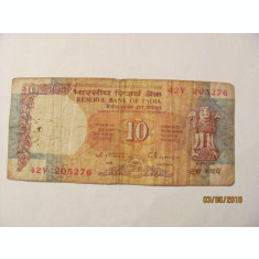 CY - 10 rupees rupii 1992 India