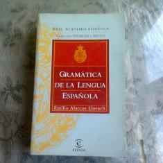 GRAMATICA DE LA LENGUA ESPANOLA - EMILIO ALARCOS LLORACH