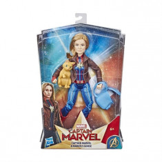 Figurina Marvel Deluxe Hero Doll And Goose The Cat