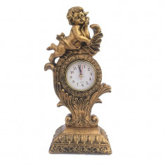 Statueta reprezentand un ingeras pe un ceas