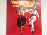 Feurige klange vom balkan ileana sararoiu nicu stanescu disc vinyl lp populara, VINIL