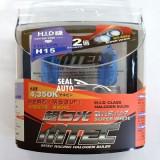 SET 2 Becuri auto H15 MTEC super white – efect xenon