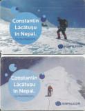 România, Constantin Lăcătuşu în Nepal, 2 cartele telefonice Romtelecom, 2009