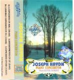 Caseta Joseph Haydn Piano: Oliver Roberti – Piano Concertos, originala