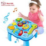 Masuta 2 in 1, jucarie cu sunete si activitati pentru bebe, Oem