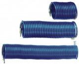 Furtun spiralat conectori aer comprimat din PA 10x8mm 10m 19/56 bari ADLER MA0140.1
