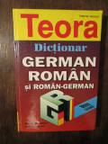 Dicționar german-român, român-german, 38.000 de cuvinte - Alexandru Roman...