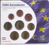 Luxemburg Set 8F - 1, 2, 5, 10, 20, 50 euro cent, 1, 2 euro 2016 - UNC !!!
