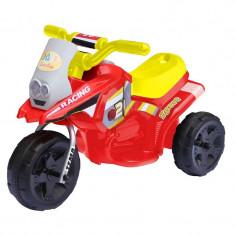 Tricicleta electrica cu sunete si lumini, 2.5 Km/h, 66 x 34 x 44 cm, 3 ani+