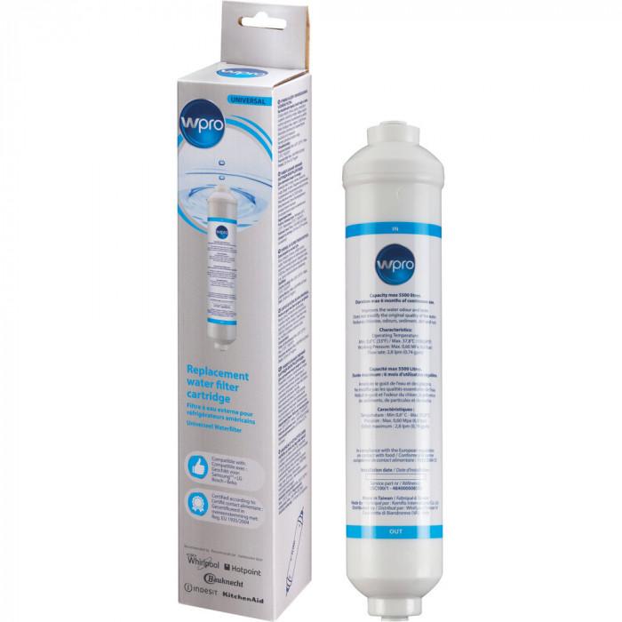Filtru apa Wpro pentru aparate frigorifice Side by Side 484000008553