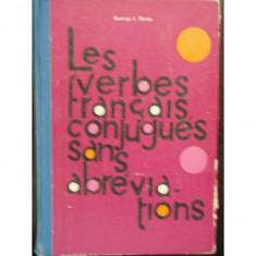 LES VERBES FRANCAIS CONJUGUES SANS ABREVIATIONS