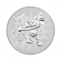 Moneda argint 999 lingou, Mickye Mouse 1 uncie = 31 grame