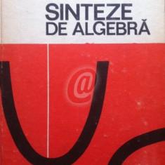 Sinteze de algebra