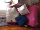 Perna tricotata albastra