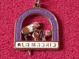 Breloc (deosebit!!) fotbal REAL MADRID anti Barcelona