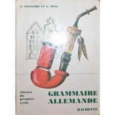 GRAMMAIRE ALLEMANDE - J . CHASSARD , G . WEIL