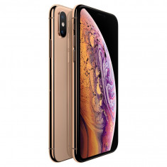 Telefon mobil Apple iPhone XS, 64GB, Gold, Auriu, 5.8''