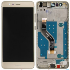 Ecran LCD Display cu Rama Huawei P10 Lite Gold