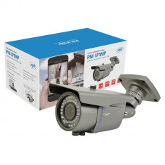 Resigilat : Camera supraveghere video PNI IP1MP 720p cu IP varifocala 2.8 - 12 mm