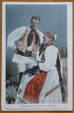 Tarani sasi din partea Sibiului , interbelica, Necirculata, Printata