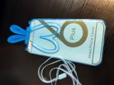 Carcasa protectie spate telefon iPhone 6 PLUS, cu urechi si snur prindere bumper