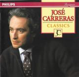 CD José Carreras – Classics, original, muzica clasica