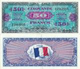 1944 , 50 francs ( P-117a ) - Franţa - stare XF