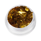 Sclipici Unghii Model Fulgi de Gheata - Crystal Gold, 5 g