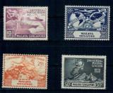 Malaya-Singapore 1949 - UPU, serie nestampilata